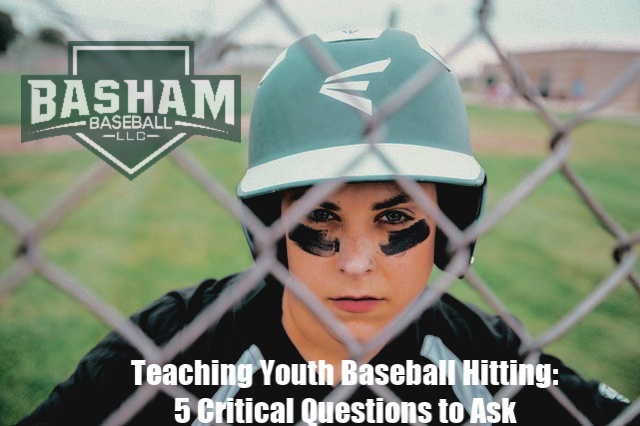 Teaching Youth Baseball Hitting
